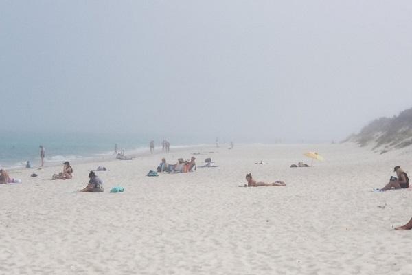 Social media alight as sea fog rolls across the coast