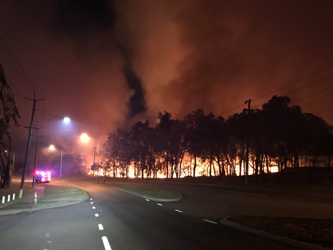 Article image for Fire at Wembley Golf Course