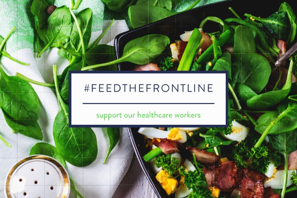 Feed the frontline – Keep the healthcare army marching on