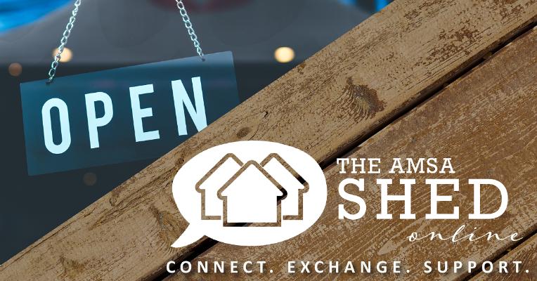 Men's shed goes online!