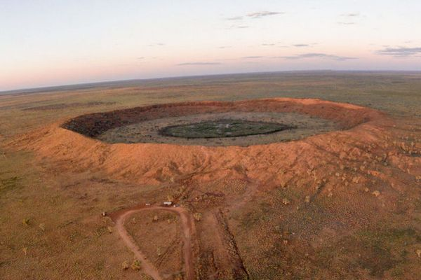 Could the world's second biggest crater be your newest travel location?