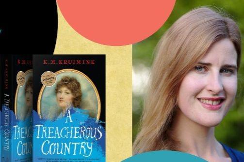 Vogel-winner KM Kruimink on her new book The Treacherous Country