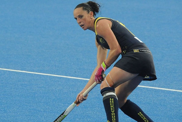 Australia's Most Capped Hockeyroos Player Providing Afternoons Words Of Wisdom