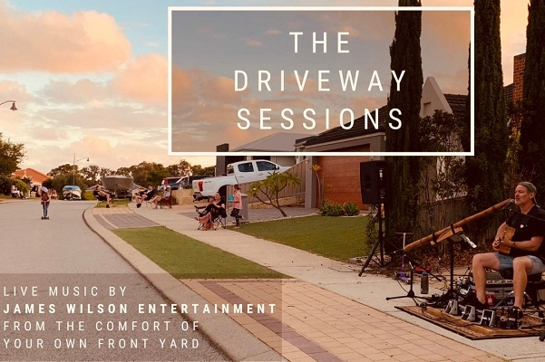 James Wilson The Driveway Sessions – Bringing Music To Your Suburb