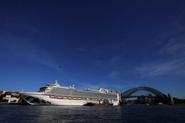 Article image for Ruby Princess coronavirus death toll climbs to 10