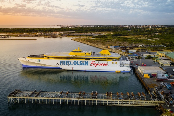 Have you seen the 110 metre monster boat along the West Australian coast?