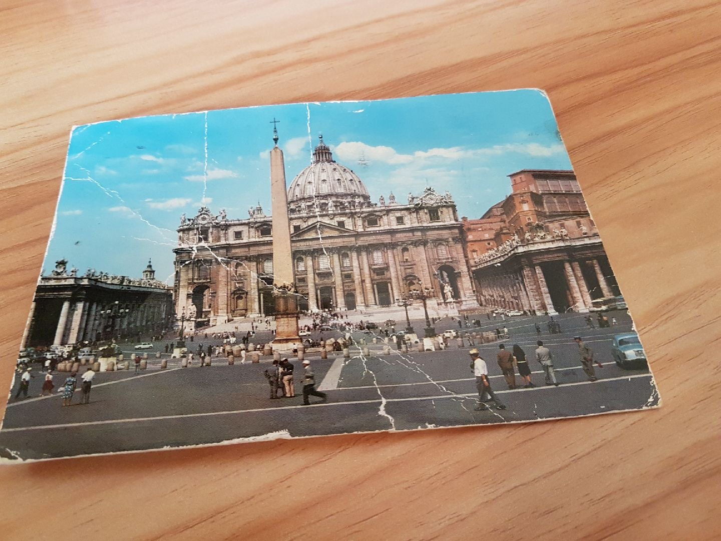 Article image for Postcard arrives 44 years late