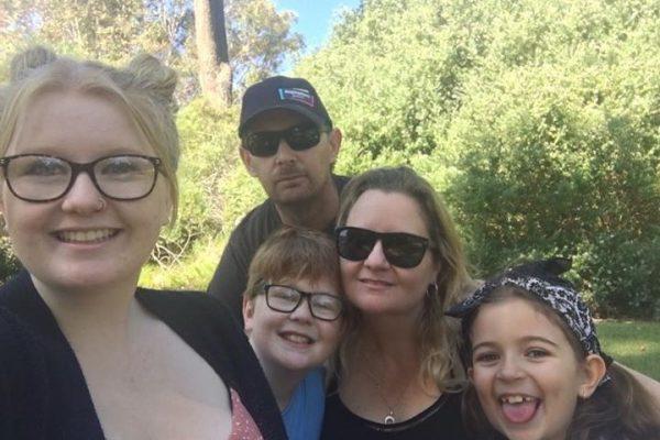 Hardworking family dealt a double blow but still hopeful