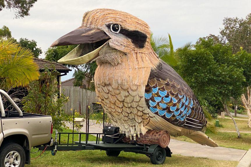 Article image for A 8.5 metre Kookaburra has been built in Townsville
