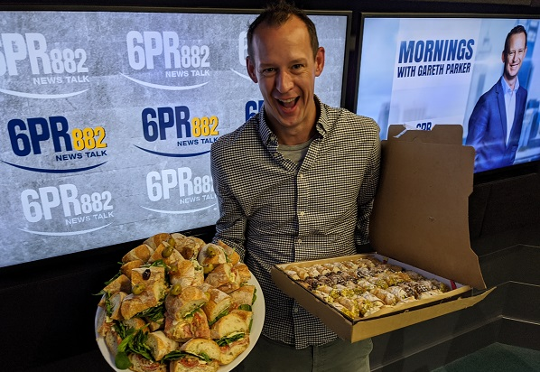 gareth parker Australia's biggest morning tea morning tea