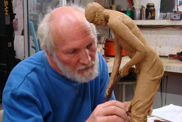 WA sculptor Greg James has had four art pieces stolen in two years