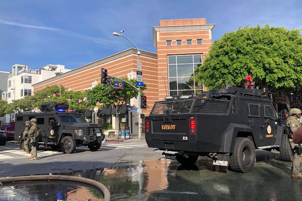 George Floyd riots: National Guard called as protests and vandalism stretch into sixth day