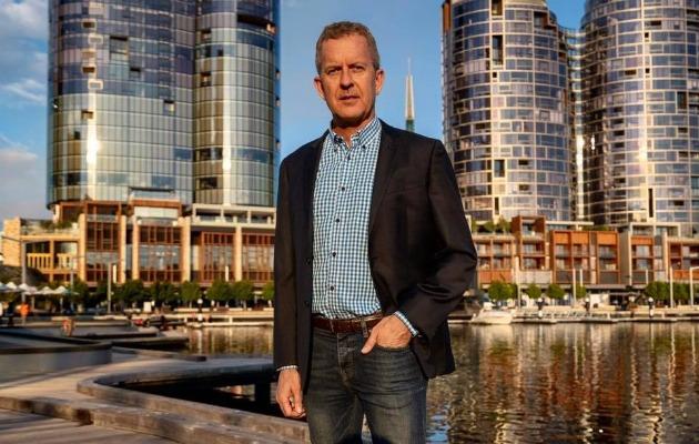 Mark Gibson runs for Perth Lord Mayor