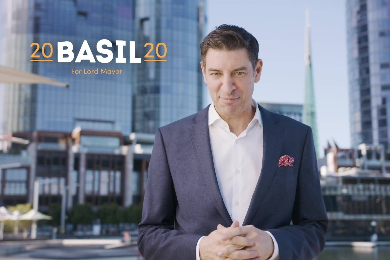 Basil Zempilas on his run for Lord Mayor