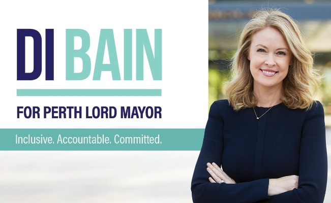 Di Bain speaks about her run for Lord Mayor
