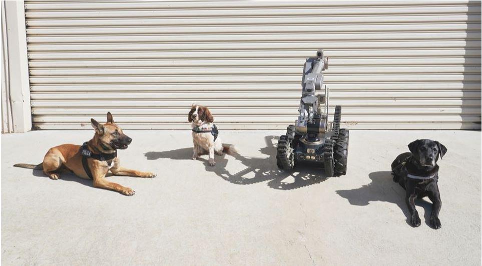WA Police new bomb robot gets its name