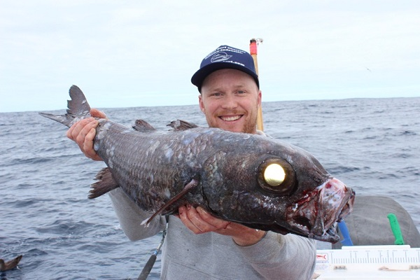 WA's oldest recorded fish caught by Jack Dawson