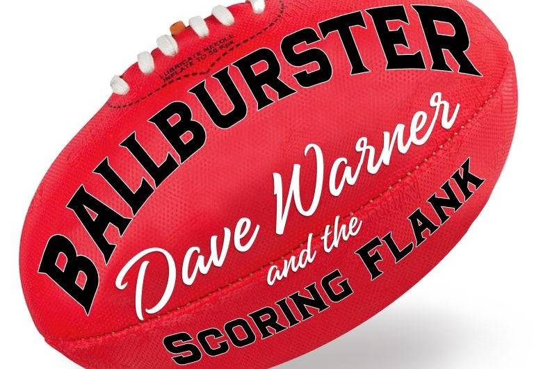 Dave Warner releases Footy album: Ballburster