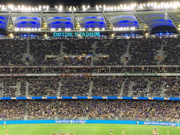 Is attending the footy a good idea in the midst of a global pandemic?