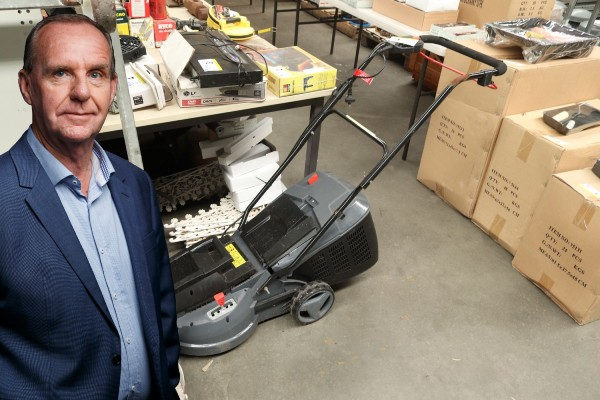 Article image for How Millsy ended up with a lawnmower