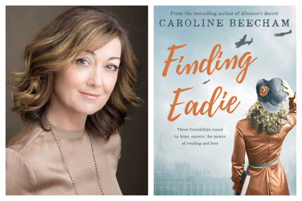 Author Caroline Beecham on her fascinating wartime tale