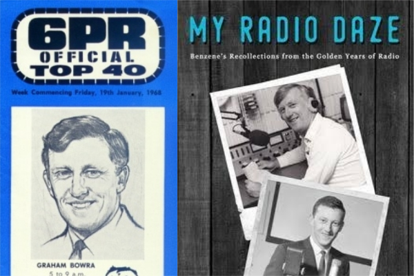 Veteran broadcaster Graham Bowra's 'Radio Daze' get a new book