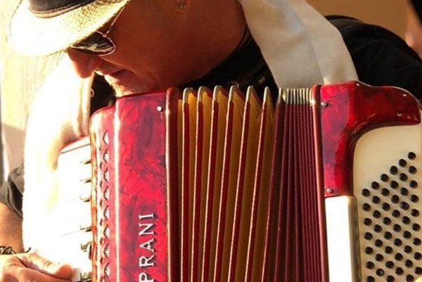Article image for Friday House Band Mr Frank 'The Accordion Man' Miranda!