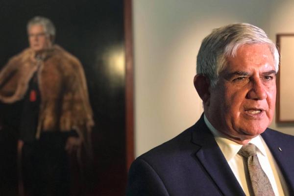 "Ken Wyatt ""in talks"" with Aboriginal flag rights owner"