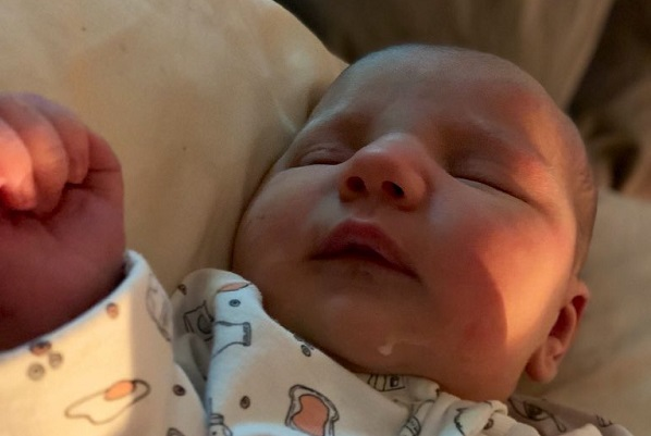IT'S A GIRL: Lisa Barnes and family welcome a new addition