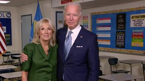 Article image for Joe Biden Gets the Votes on Night 2 of the D.N.C.