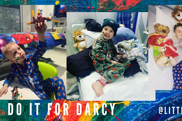 UPDATE: Darcy Keely takes an important step towards recovery