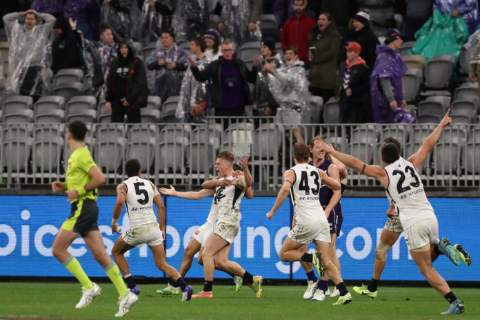 Article image for Fremantle Robbed: Free Kick Furore