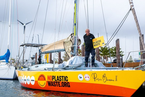 Jon Sanders is sailing around the world for the 11th time for a GREAT cause!