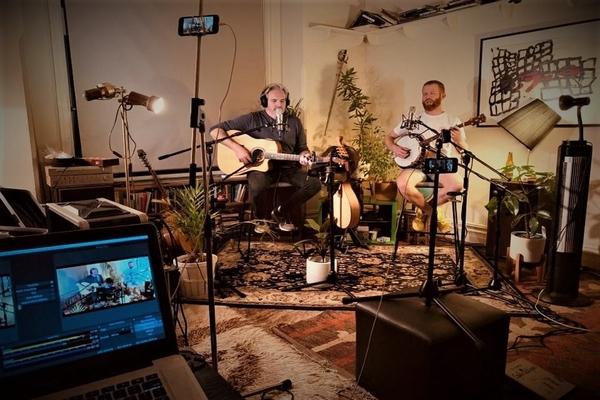 The Broken Pokers return in 2020 to serenade the studio…