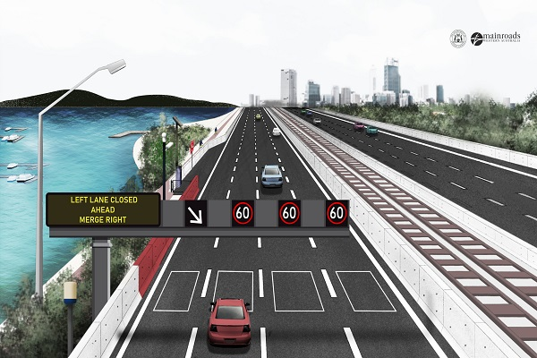 Did the new Smart Freeway project pass the test this morning?