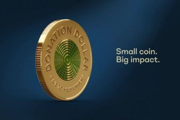A coin designed to be given away?