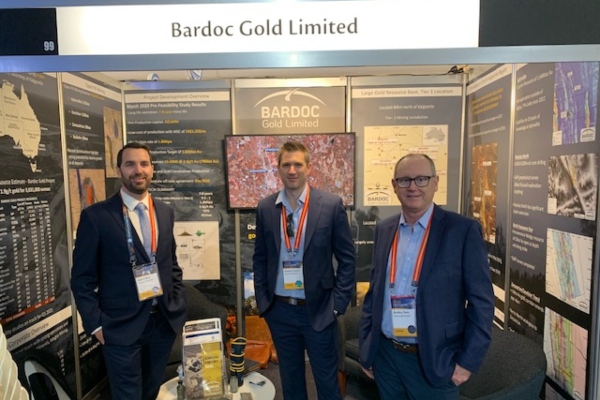 Bardoc Gold: An 89m long mineralised drill hit is sure to quicken a few pulses !