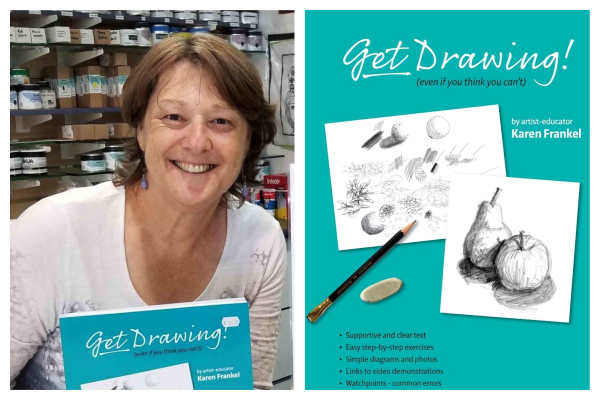 Author Karen Frankel KNOWS you can draw