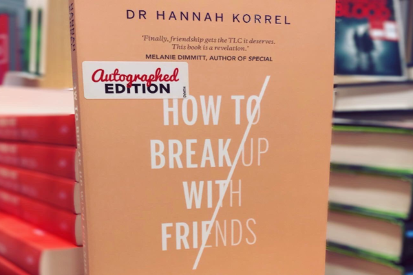 It's not me, it's you! The subtle art of breaking up with friends