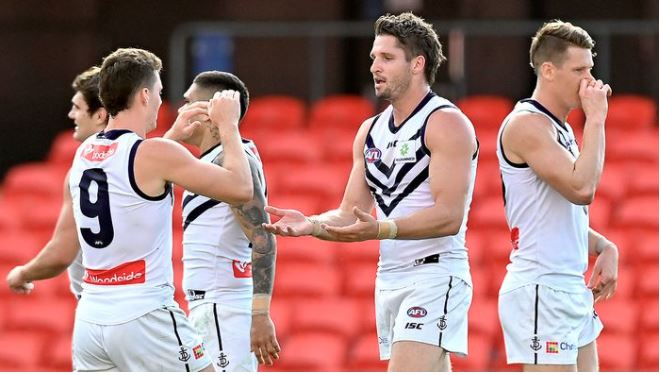 Article image for Fremantle and GWS agree to trade Hogan