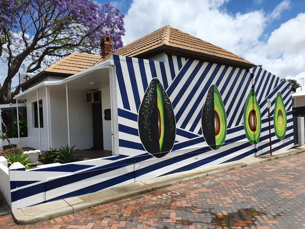 The story behind the 'Avocado House' in West Perth