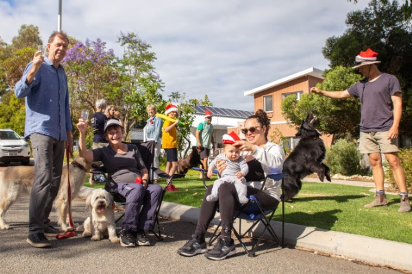 Article image for Streets free to party in Freo