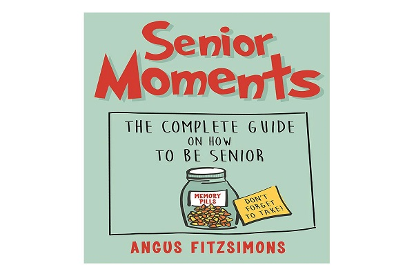 Stroll, or maybe shuffle down memory lane with this funny new book on senior moments