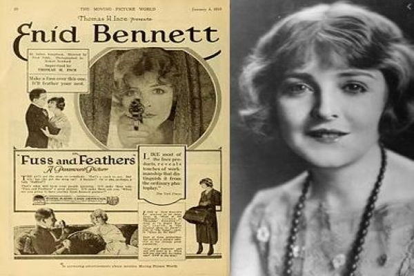 The girl from York that became a Hollywood silent movie star
