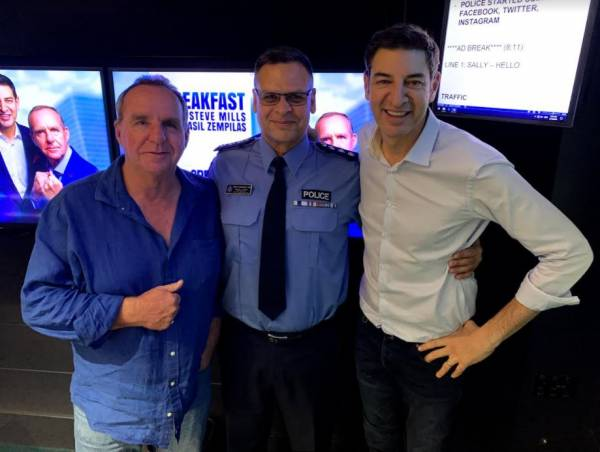 Article image for Inspector Geoff DeSanges joins Baz and Millsy for the last time
