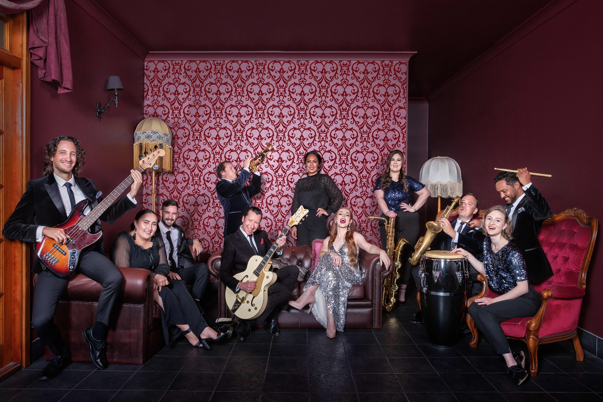 The Milford Street Shakers are bringing a little bit of Soul to Christmas