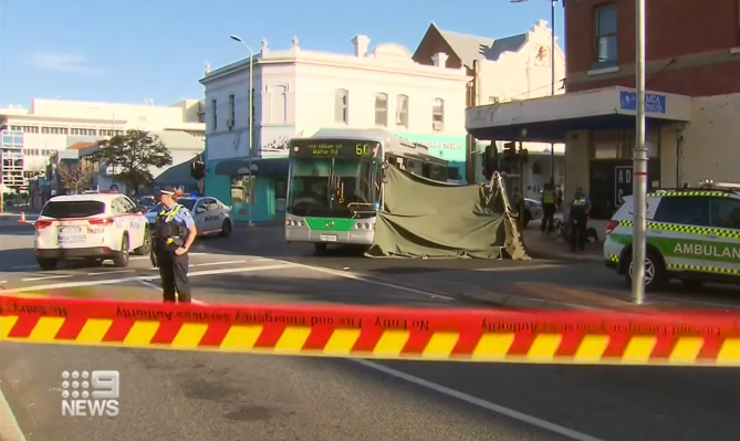 Article image for Bus driver charged over fatal crash in Northbridge