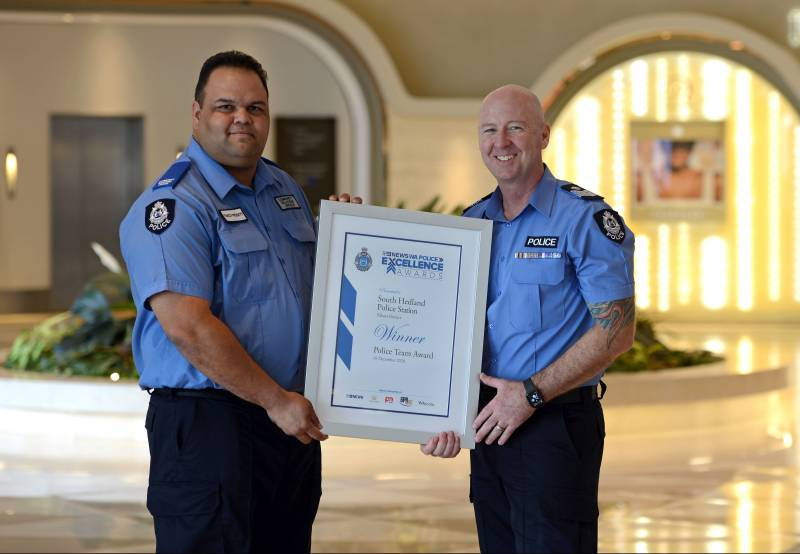 Article image for South Hedland Police recognised for their bravery