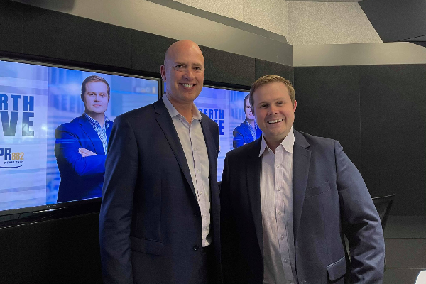 Dean Nalder speaks openly about why he's quitting