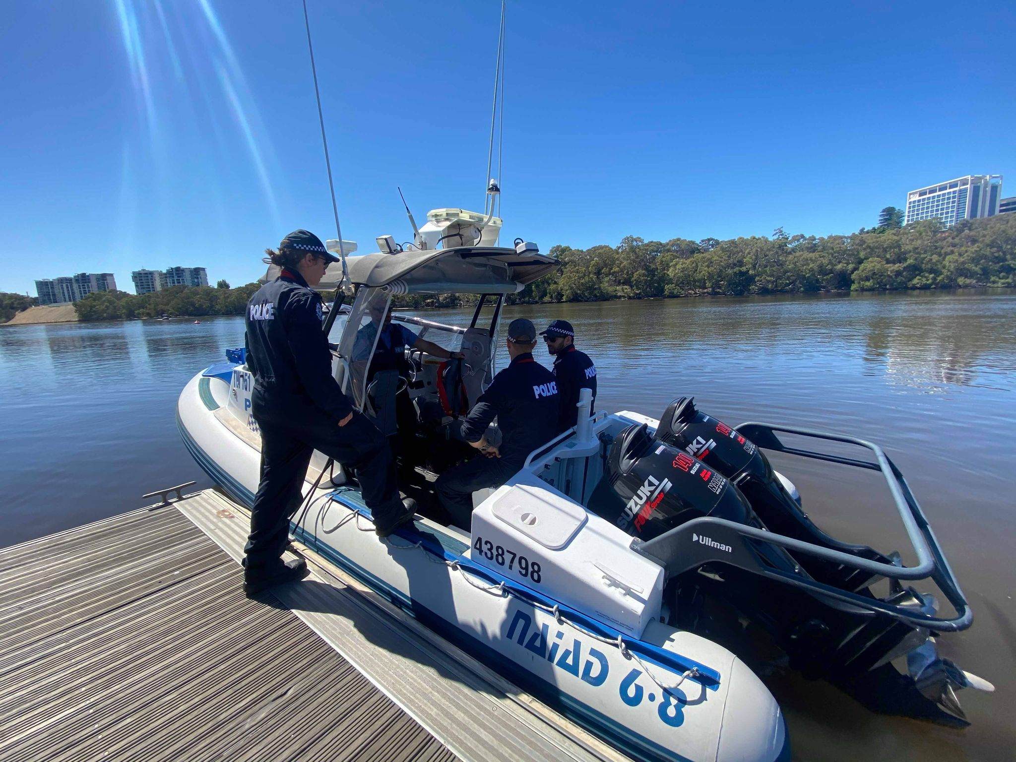 Article image for Tragic discovery in the Swan River